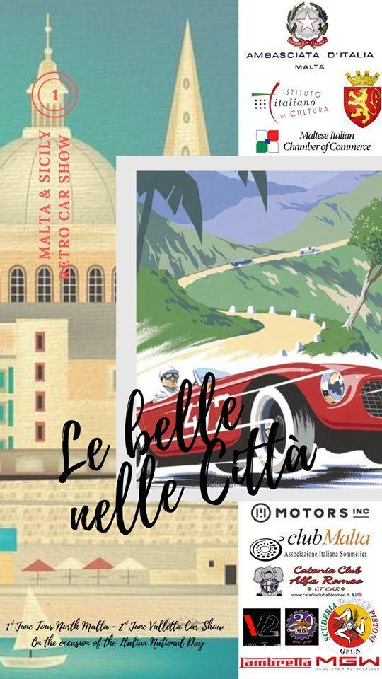 Il Catania Club Alfa Romeo a Malta