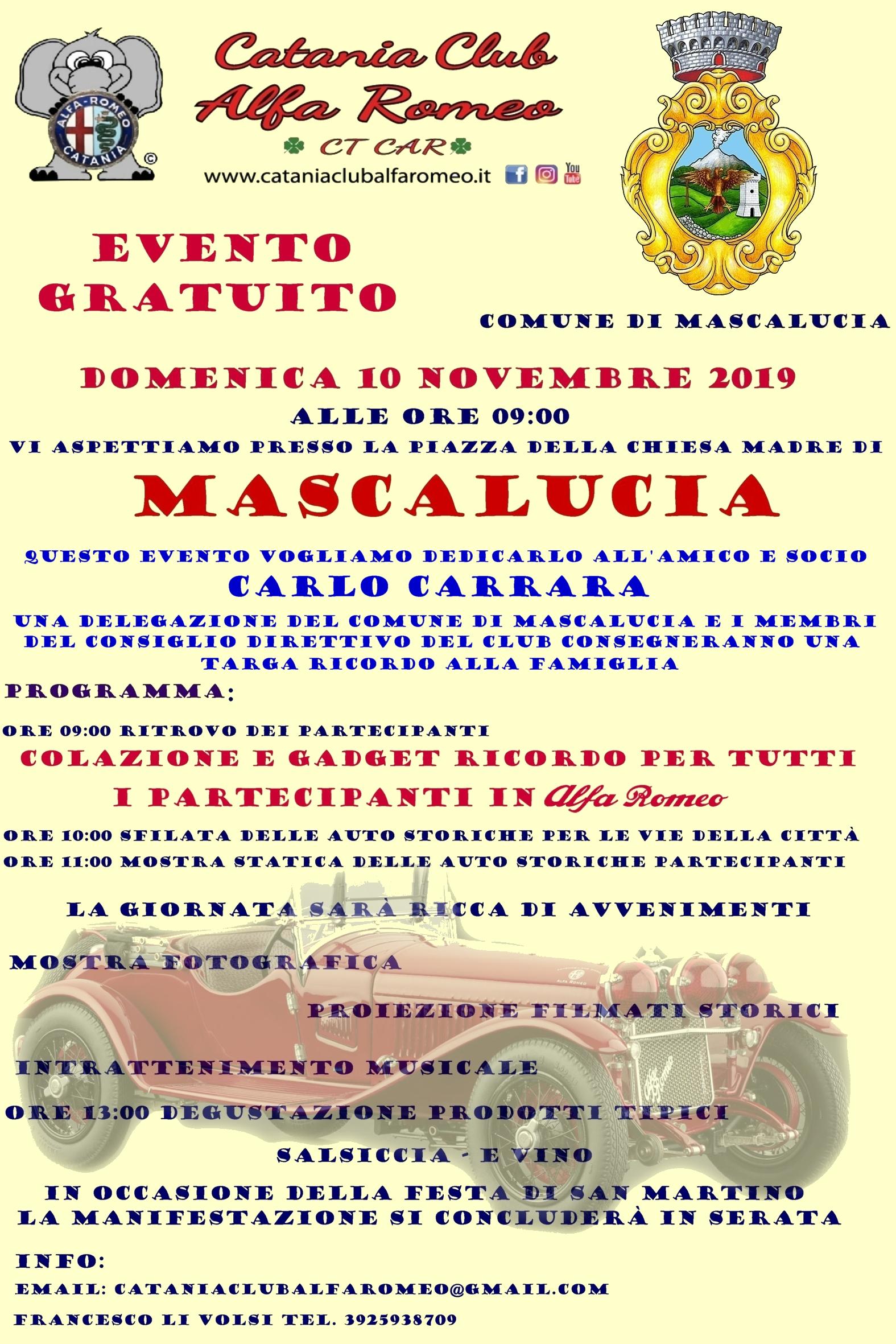 Evento Mascalucia
