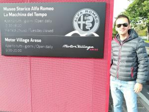 Segretario Catania Club Alfa Romeo